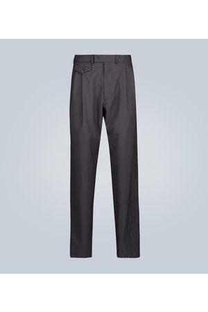 Rochas Double-pleated wool pants