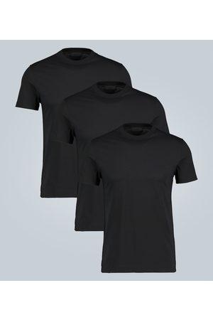 Prada Cotton jersey T-shirt three-pack