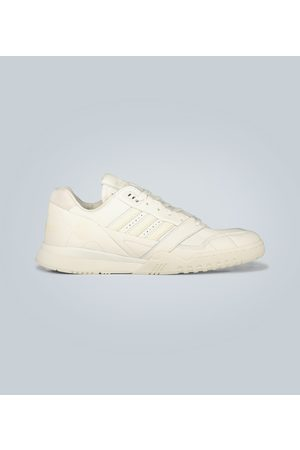 adidas A.R. Trainer leather sneakers