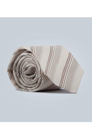 Éditions M.R Diagonal striped tie