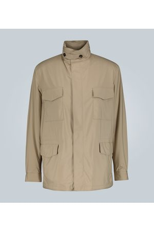 Loro Piana Cashmere-lined Traveller Windmate jacket