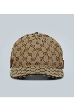 Gucci Men Hats - Original GG canvas baseball hat