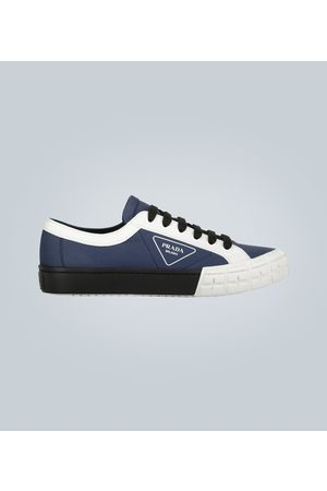 Prada Wheel low-top sneakers with logo