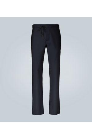 Maison Margiela Tailored drawstring wool formal pants