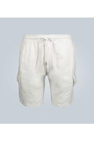 Vilebrequin Baie mid-length linen shorts