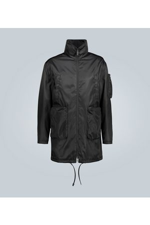Prada Technical coat with large pockets