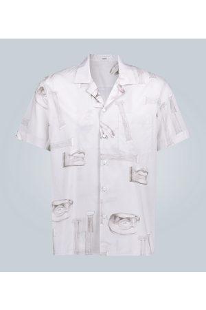 Commas Camp-collar short-sleeved shirt