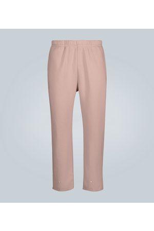 Les Tien Snap buttoned cotton sweatpants