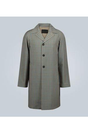 Prada Checked trench coat