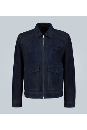 Prada Suede leather jacket