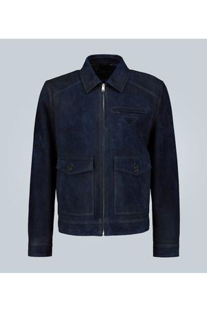 Prada Suede leather jacket