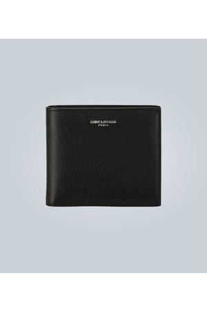 Saint Laurent Grain leather folded wallet