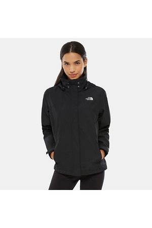 TheNorthFace Offering hooded protection in a waterproof and breathable shell, this jacket is ideal for wet-weather hikes this winter. DryVent™ technology keeps you dry when rain begins to fall, and the adjustable hood can be stowed in the collar when the