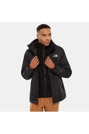 TheNorthFace Ideal for high-energy adventurers, this 3-in-1 jacket provides versatile all-weather protection on the trail. It's packed full of mountain-specific features, including an adjustable stowable hood, twin hand pockets and cinch cord hem. To keep