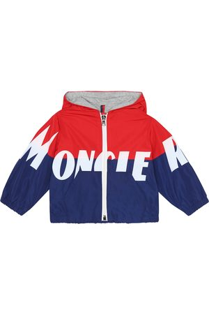Moncler Baby Kruth logo hooded jacket