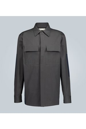 Bottega Veneta Structured cotton overshirt jacket