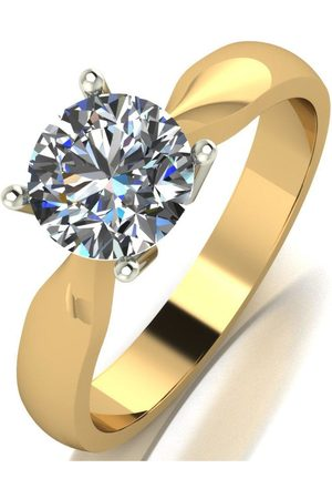 Moissanite 9Ct Gold 1.25Ct Solitaire Ring