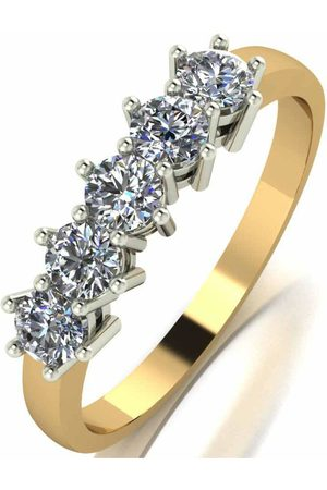 Moissanite 9Ct Gold 0.75Ct Eternity Ring