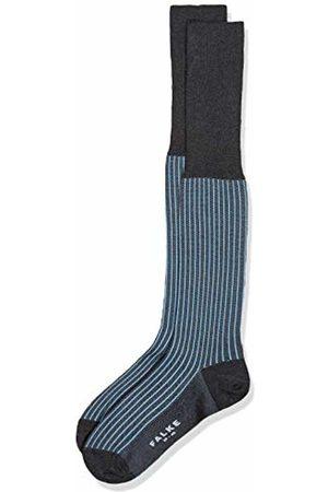Falke Men Oxford Stripe Knee-Highs - Cotton Blend, UK 8.5-9.5 (Manufacturer size: 43-44)