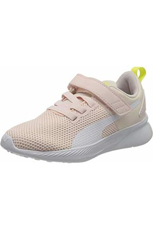 Puma Unisex Kid's Flyer Runner V PS Trainers, ( Rosewater -Sunny Lime-Peony 09)