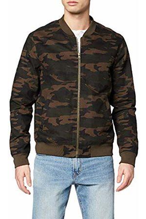 FIND Amazon Brand - FIND PHRL2608R LS Mens Cardigans