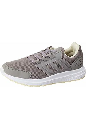 adidas Women's Galaxy 4 Running Shoe, Dove /Dove /Sand