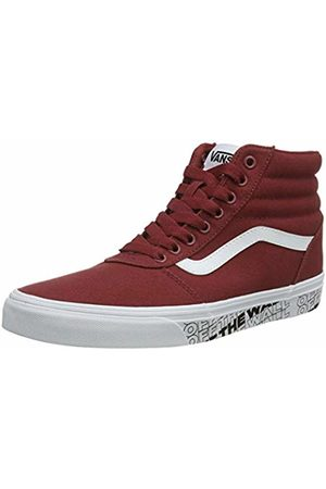 Vans Men's Ward Canvas Hi-Top Trainers, (Rosewood/ We9)