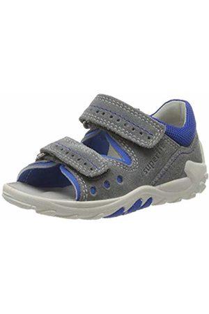 Superfit Baby Boys' Flow Sandals, (Hellgrau/Blau 25)