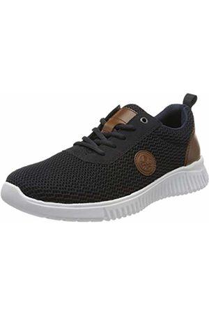 Rieker Men's Frühjahr/Sommer Low-Top Sneakers, (Navy/Pazifik/Amaretto/ 14 14)