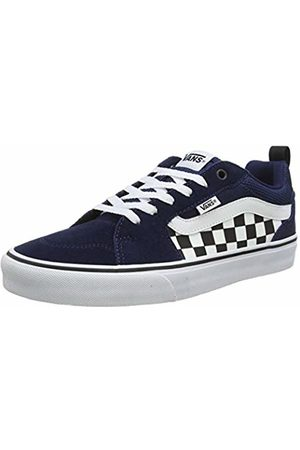 Vans Men's FILMORE Suede/Canvas Trainers, ((Checkerboard) Dress Blues/ W7n)