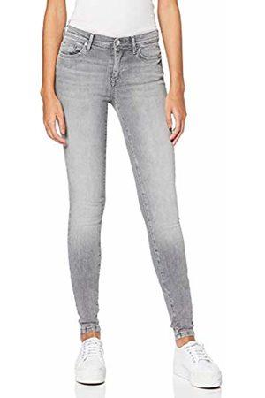 Skinny Fit Dark Blue Only Damen Jeans onlCARMEN REG SK JEANS CRYSA1433/_2