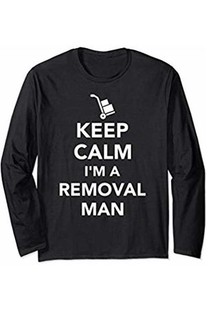 Removal man gifts Men Tops - Keep calm I'm a removal man Long Sleeve T-Shirt
