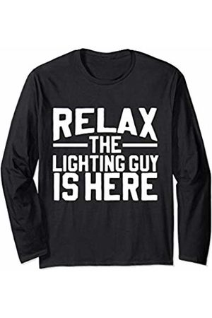 DL Clothing The Lighting Guy is Here! Long Sleeve T-Shirt