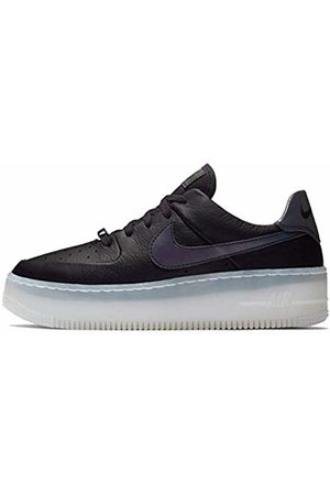 Nike Women's W AF1 SAGE Low LX Basketball Shoes, (Oil /Blank- 004)