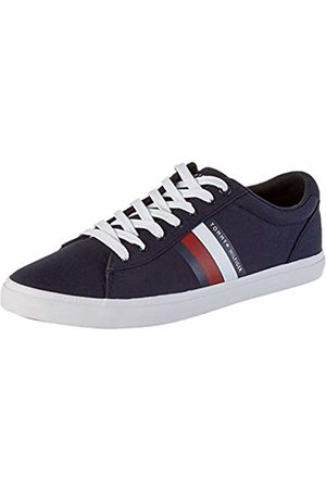 Tommy Hilfiger Men's Essential Stripes Detail Sneaker Low-Top, (Desert Sky Dw5)