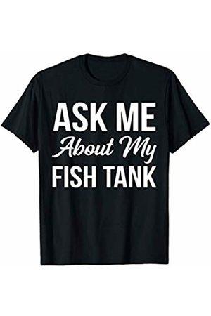 BW Aquarium Gifts Funny Saltwater Reef Aquarium Ask Me About My Fish Tank T-Shirt