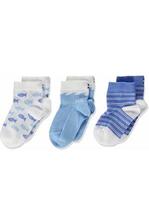Tommy Hilfiger Baby Boys' Th Sock 3p Giftbox Calf