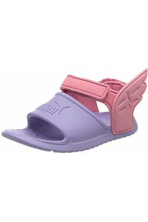 Puma Unisex Kid's DIVECAT V2 INJEX Hero INF Beach & Pool Shoes, (Sweet Lavender-Bubblegum-Peony 02)