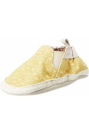 Robeez Baby Girls' Summer Camp Slippers, (Jaune 7)