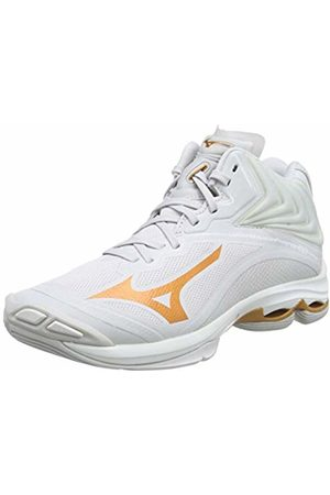 Mizuno Women's Wave Lightning Z6MID Volleyball Shoes, (Nimbus Cloud/10135c/Wht 52)