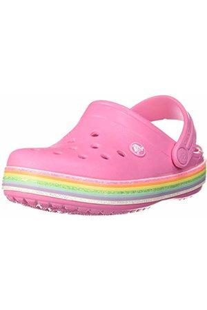 Crocs Unisex Kid's Crocband Rainbow Glitter Clog