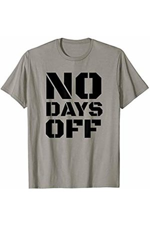 JoyLifeTees Funny NO DAYS OFF Training Gym Fitness Outfit T-Shirt