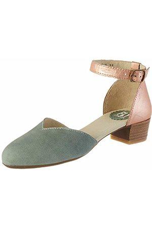 Fly London Women's LOGI459FLY Closed Toe Sandals, (Jade /Blush 005)