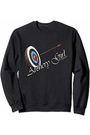 Archery Girl Hunting Lovers archery bow lover gift Sweatshirt