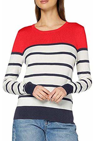 Vero Moda Women's Vmlacole Ls Block Blouse Boo Pullover Sweater