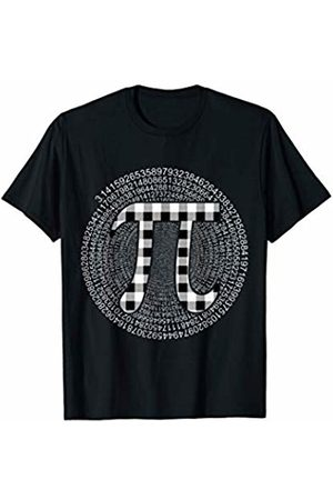 Pi Happy Pi day Funny Cool Gifts Tee For Men Women Funny Pi Buffalo Plaid Happy Pi Day Teacher Student Gifts T-Shirt