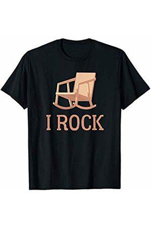 Rock Music Rocking Chair Pun Designs Rock Music Rocking Chair Pun T-Shirt