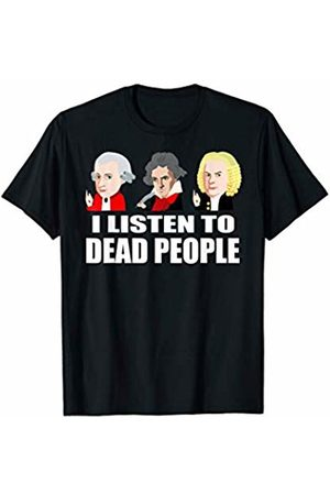 Vintage Classical Music T-Shirts Dead People Classical Music Shirt-Mozart Beethoven Bach Tee T-Shirt