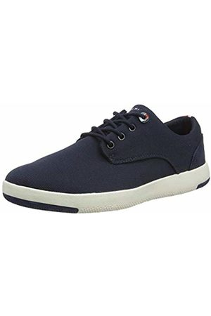 Tommy Hilfiger Men's Lightweight Textile Lace Up Shoe Mocassins, (Desert Sky Dw5)