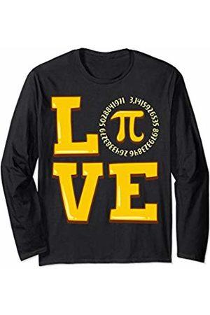 Wowsome! I Love Pi - Happy Pi Day Geeky Math Celebration Men Women Long Sleeve T-Shirt